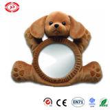 Espelho infantil da parte traseira do brinquedo do luxuoso do carro de bebê da râ do cão do urso