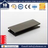 Profil anodisé par extrusion alliage en aluminium/d'aluminium 6063 pour le guichet