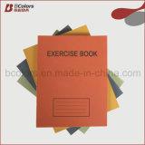 Venda por atacado grampeada Rulling feita sob encomenda do livro de exercício