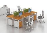 Poste de travail droit moderne avec 6 portées de personne (HF-YZK016)