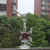 Kleurrijke Boorplatforms van de Recycleermachine van de SCHAR van de Pijp van het Water van het glas de Rokende