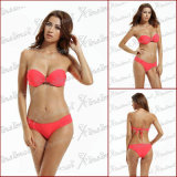 Parte superiore dello Swimwear riempita colore puro occidentale di stile