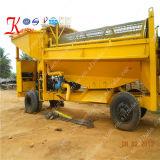 Tamburo rotante dell'oro della lavatrice dell'oro di capacità elevata