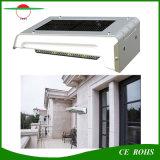 16LED lámpara solar accionada solar recargable IP65 al aire libre del jardín del sensor montado en la pared de la luz PIR con la batería reemplazable