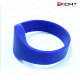 Tag de borracha popular do relógio do Wristband do bracelete do silicone RFID do preço de fábrica
