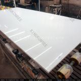중국 공장은 설계한 석영 돌 지면 도와를 규격대로 잘랐다