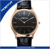 新製品の紳士の流行のアナログの人の多色刷りのCollocativeの腕時計