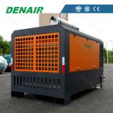 Grand compresseur d'air monté de moteur diesel de flux d'air par dérapage à vendre