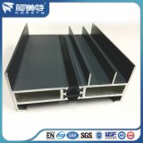 Profil en aluminium d'OEM 6063t5 de bâti intérieur et extérieur de guichet