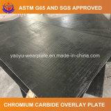 Высокая плита износа крома для кускового материала вручая оборудование