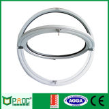 Ventana redonda circular de aluminio con el vidrio doble