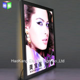 Panneau de menu en aluminium moulé en aluminium à panneau lumineux rétro-éclairé