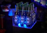 Акриловая коробка индикации, 24 ведра льда бутылок