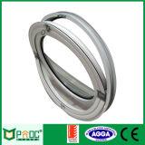 Ventana redonda de cristal de aluminio revestida del polvo