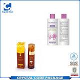 Qualität druckte kosmetischen Aufkleber-Kennsatz