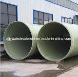 Tubo de alta presión de Dn50-4000mm FRP/GRP para el abastecimiento del agua