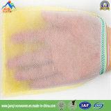 De beschikbare Niet-geweven Enige Gele Handschoen van het Bad