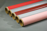 Doek van de Glasvezel van het Silicone van de Hitte van de thermische Isolatie Vuurvast/Anti de Rubber Met een laag bedekte
