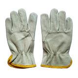 Cerdo grano Industrial Safety mano guantes de trabajo de cuero Drivers