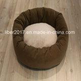Sofà della Camera di cane del gatto dell'ammortizzatore della base del cane della peluche dell'OEM della mobilia dell'animale domestico della fabbrica