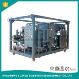 Purificador de petróleo del transformador del vacío de la eficacia alta de Lushun Zja