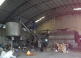 Gummireifen Recycling zu Oil Pyrolysis Plant Semi-Continuously