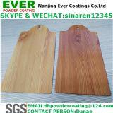 Capa de madera del polvo del traspaso térmico del grano de la capa de la sublimación