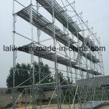 Système en acier d'échafaudage de Ringlock pour la construction