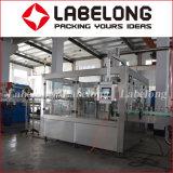 Alta velocidad Maquinaria Gaseosa de llenado para botellas de vidrio