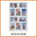 Белые картинные рамки коллажа 10-Slot для промотирования (WD10-04W)