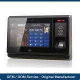 Nécessaires biométriques de service de temps de système de contrôle d'accès de porte de carte d'IDENTIFICATION RF d'empreinte digitale d'appareil-photo de TCP/IP avec la batterie de blocage magnétique