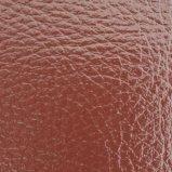 Cuoio del PVC del cuoio sintetico del PVC del cuoio della valigia dello zaino degli uomini e delle donne di modo del cuoio del sacchetto del fornitore Z080 di certificazione dell'oro dello SGS