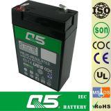 bateria 6V2.8AH recarregável, para a luz Emergency, iluminação ao ar livre, lâmpada solar do jardim, lanterna solar, luzes de acampamento solares, torchlight solar, ventilador solar, bulbo