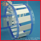 Cables de la escritura de la etiqueta con los tubos del encogimiento del calor