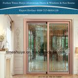 Schuifdeuren van het Aluminium van de Fabriek van Foshan de Op zwaar werk berekende