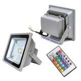 Dispositivo ligero al aire libre cambiante de inundación del color de IP66 10W RGB para la tierra montada