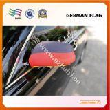 Le Spandex a mélangé la couverture faite sur commande d'indicateur de miroir d'aile de véhicule au logo estampé (HY-AS345)
