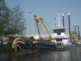 Wsd-200油圧カッターの吸引の浚渫船
