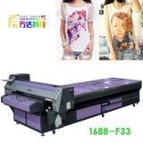 Máquina de impressão Flatbed de Digitas para telas do t-shirt de matéria têxtil