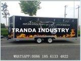 Тележки еды улицы кухни еды поставки таможен поставляя еду трейлер еды быстрой передвижной передвижной