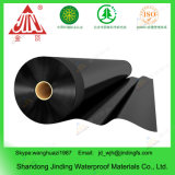 вкладыш мембраны HDPE 1.5mm (60 mils) толщиной черный ровный