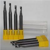 Ferramentas de trituração de 1 uma pata reta da flauta para o alumínio/madeira