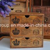 Governo variopinto di legno solido di nuovo disegno popolare retro