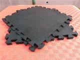 Плитки настила крытого резиновый Paver плитки квадрата плитки резиновый цветастого резиновый резиновый