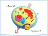 赤ん坊のためのプラシ天のおもちゃが付いている電気音楽的な赤ん坊の可動装置