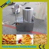 30/50/100/200kg/H 기계를 만드는 반 자동적인 튀겨진 파도치는 감자 칩