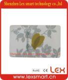 Os melhores cartões plásticos do plástico do membro do ouro de 13.56MHz 1k