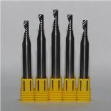 Modificado para requisitos particulares 1 herramienta de corte de la flauta para el aluminio/el proceso de madera