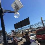 動きセンサーが付いている壁に取り付けられた機密保護の太陽ランプ