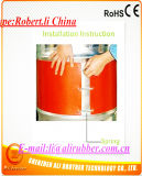 Silicone Drum Heater 200*1740*1.5mm 220V 1000W